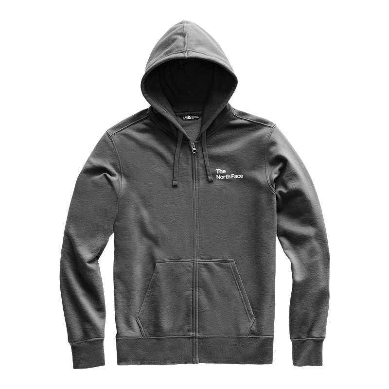 498c624a9 The North Face Men's Half Dome Explore Full Zip Hoodie - Asphalt Grey