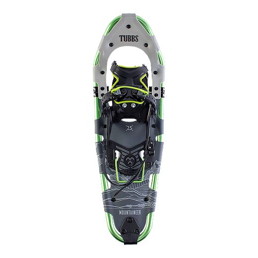 Tubbs Men's Mountaineer 25 inch Snowshoes 2019 - Green