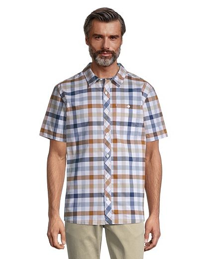 Woods Men's Aylmer Plaid Shirt