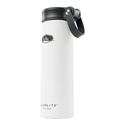 GSI 17 oz Microlite 500 Twist Lid Water Bottle - White