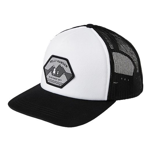 Helly Hansen Flatbrim Trucker Hat - White
