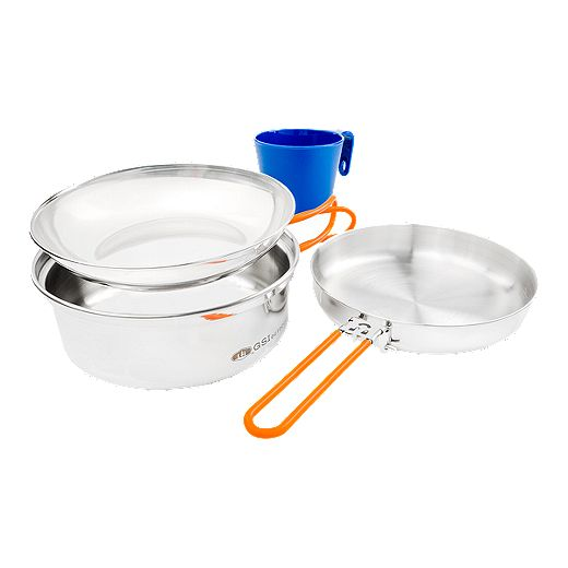 GSI Glacier Stainless Steel 1 Person Mess Kit