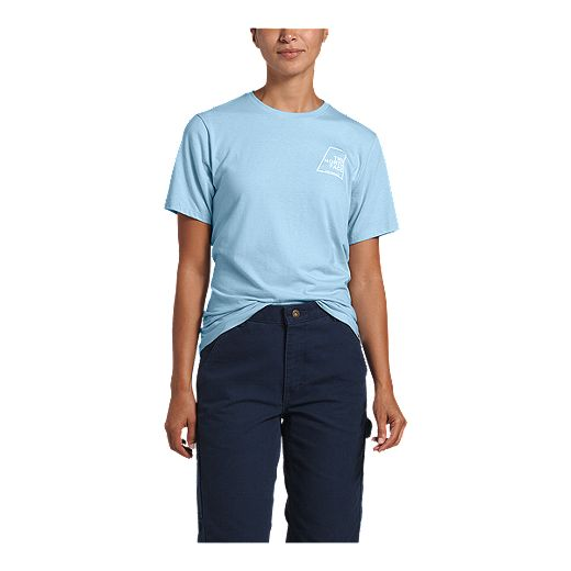 The North Face Women's Logo Marks Tri-Blend T Shirt