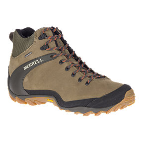Merrell Men's Cham 8 Mid Waterproof Hiking Shoes
