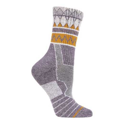 Woods Women's MacBrien Hiking Quarter Crew Socks