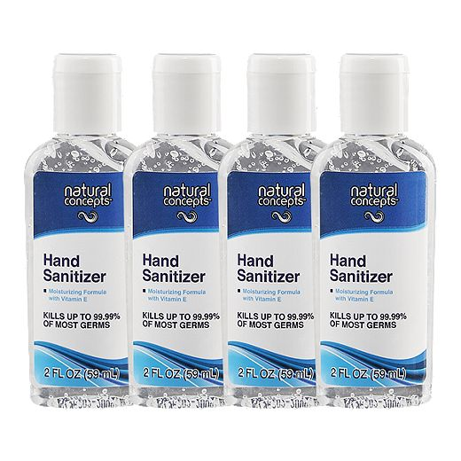 Natural Concepts Hand Sanitizer 4 - Pack - 59ml