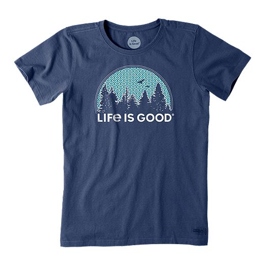 Life Is Good Women's Crusher Funky Outdoor T Shirt