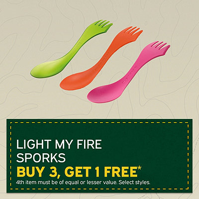 Light My Fire Sporks - Buy 3, Get One Free*