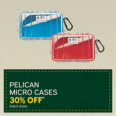 Select Pelican Micro Cases 30% Off*