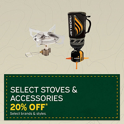 Select Stoves & Accessories 20% Off*