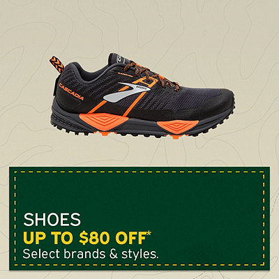 Women's & Men's Hiking, Running & Casual Shoes Up to $80 Off*