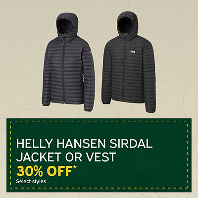 Helly Hansen Sirdial Jacket or Vest 30% Off*