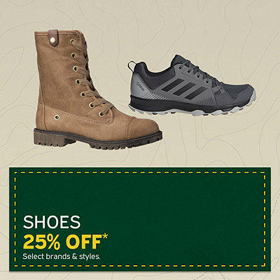 Shoes 25% Off*