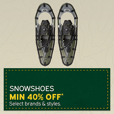Select Snowshoes Min. 40% Off*