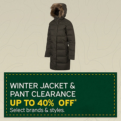 Women's & Men's Winter Jacket & Pant Clearance up to 40% Off*