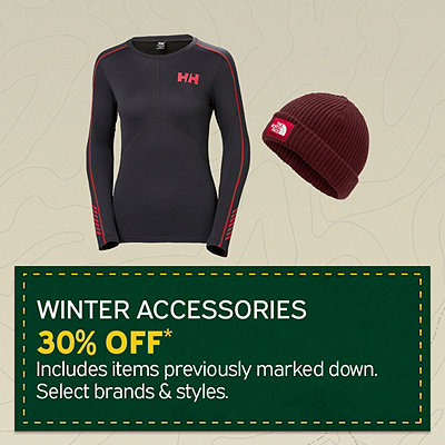 Select Accessories & Baselayer Additional 30% Off*