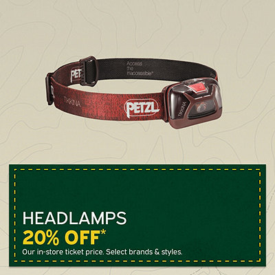 Select Headlamps 20% Off*