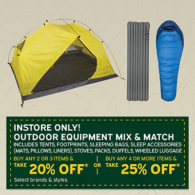 Outdoor Equipment Mix & Match