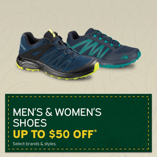 Shoes Up to $50 Off