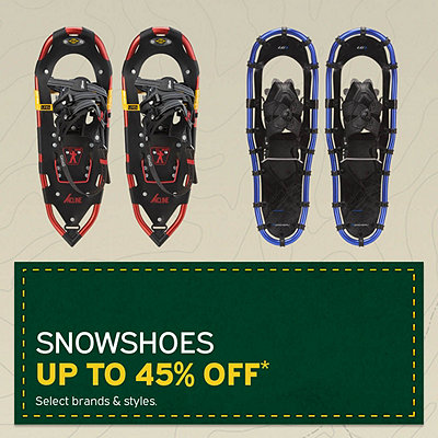 Select Snowshoes Up To 45% Off*