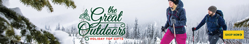 The Great Outdoors Holiday Gift Guide. Shop Now.