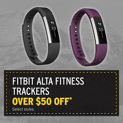 Select Fitbit Alta Fitness Trackers Over $50 Off*