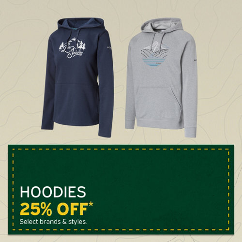 Hoodies 25% Off* Select brands & styles.