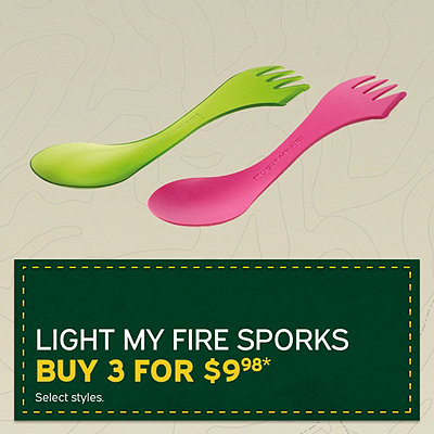 Light My Fire Sporks - 3 For $9.98*
