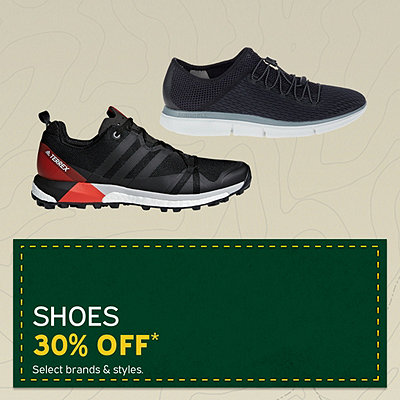Men's & Women's Shoes & Boots 30% Off*