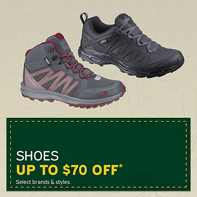 Men's & Women's Shoes Up to $70 Off*