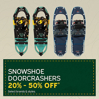 Select Snowshoe Doorcrashers 20% - 50% Off*