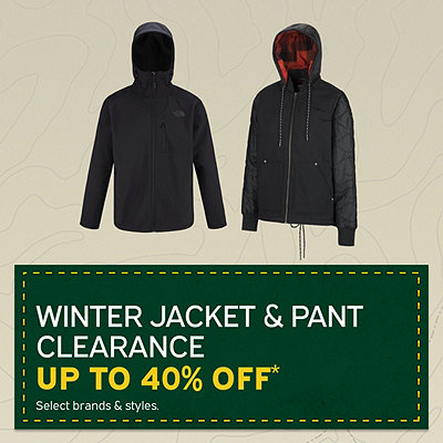 Men's & Women's Winter Jackets & Pants Clearance up to 40% Off*